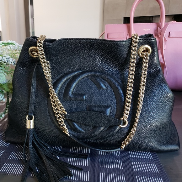 55b793cb02d Gucci Handbags - Authentic Gucci Soho